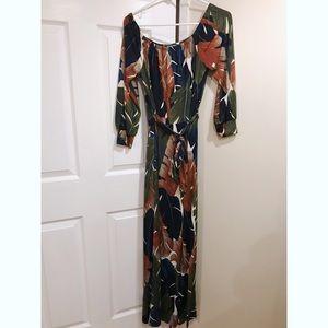 8cbd0444b40b Fashion Nova Dresses - Night Moves Tropical maxi dress